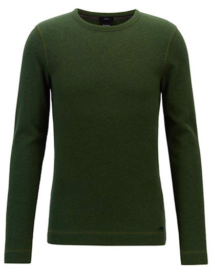 BOSS Tempest Sweater - Open Green | Coaststore.dk