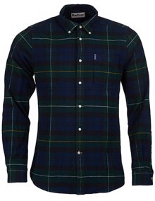 Barbour Highland Check Skjorte - Green | Coaststore.dk