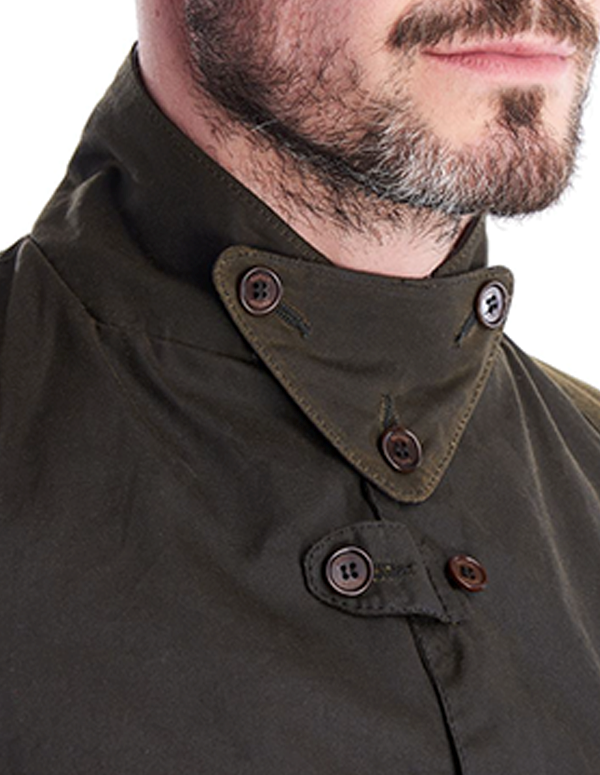 Barbour Icons Beacon Sports Jakke - Olive | Coaststore.dk