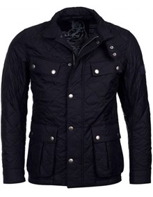 Barbour Ariel Quilted Jakke - Navy | Coaststore