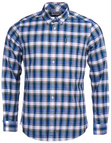 Barbour Country Check Skjorte - Green | Coaststore