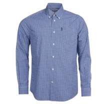 Barbour Gingham Skjorte - Inky Blue | Coaststore