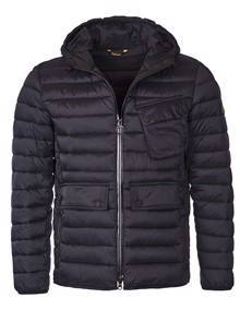 Coaststore.dk Barbour Ouston Hooded Jakke Sort