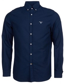 Barbour Oxford Skjorte - Navy | Coaststore