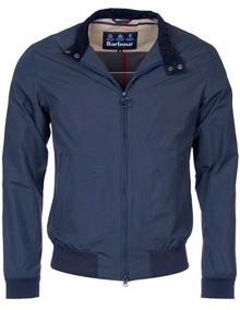 Barbour Royston Harrington Jakke - Navy | Coaststore
