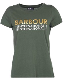Barbour Trackrace T-shirt - Tussock | Coaststore