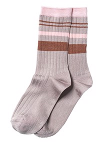 Beck Söndergaard Sporty Rainbird Strømper - Dusty Rose | Coaststore