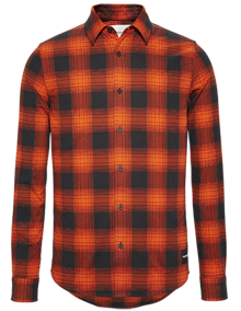 Calvin Klein Buffalo Check Slim Fit Skjorte