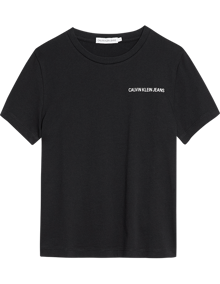 Calvin Klein Jeans Chest Logo T-shirt - Black | Coaststore