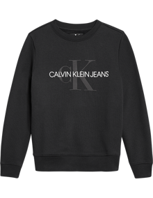 Calvin Klein Jeans Monogram Sweatshirt - Black Beauty | Coaststore