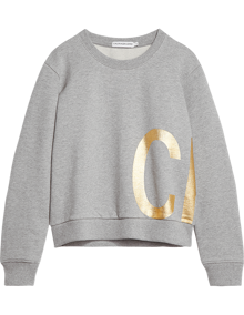 Calvin Klein Jeans CK Gold Sweatshirt - Light Grey Heather | Coaststore
