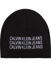 Calvin Klein Jeans J Basic Beanie - Black Beauty | Coaststore