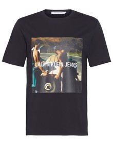 Calvin Klein Jeans Photo / Surfboard T-shirt - CK Black | Coaststore.dk
