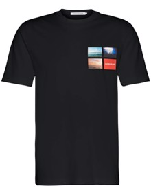 Calvin Klein Jeans Photographic Small T-shirt - CK Black | Coaststore.dk
