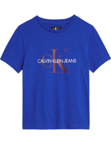 Calvin Klein Jeans Monogram SS T-shirt - Surf The Web | Coaststore