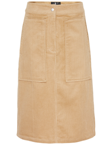 Calvin Klein Jeans Corduroy Carpenter Nederdel - Travertine | Coaststore