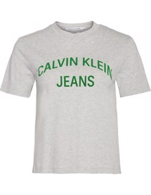 Calvin Klein Jeans Curved Logo T-shirt | Coaststore.dk