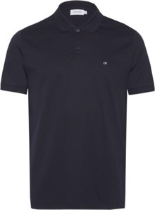 Calvin Klein Soft Interlock Polo T-shirt - Calvin Navy | Coaststore.dk