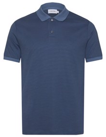 Calvin Klein Liquid Touch Polo T-shirt - Coronet Blue | Coaststore.dk