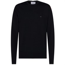 Calvin Klein Superior Wool Crew Neck Strik
