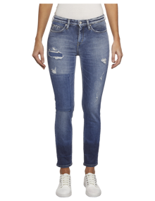 Calvin Klein Mid Rise Skinny Jeans