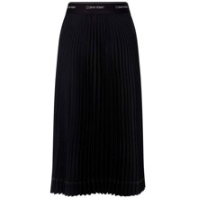 Sunray Pleat Midi Nederdel