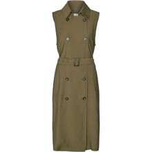 Co'couture Tatjana Trenchcoat Vest