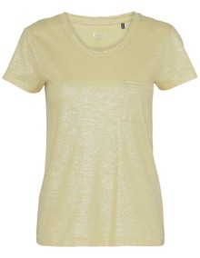 DAY Birger et Mikkelsen Via T-shirt - Dusky Citron | Coaststore
