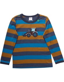 Freds World Crane Stripe Bluse - Midnight | Coaststore.dk