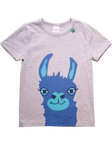 Freds World Lama SS T-shirt - Pale Greymarl | Coaststore