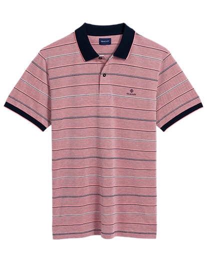GANT Oxford Stripe Polo T-shirt | Coaststore.dk