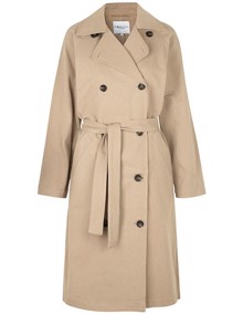 Global Funk Tahlia Trenchcoat - Warm Sand | Coaststore