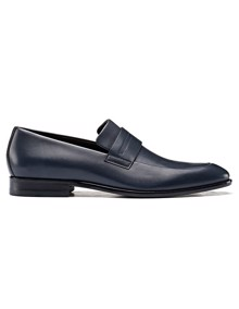 HUGO Appeal Loafers - Dark Blue | Coaststore.dk