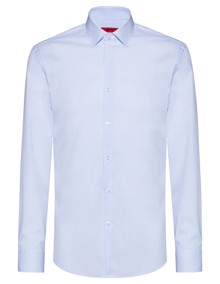 BOSS Kenno Skjorte - Light Pastel Blue | Coaststore.dk