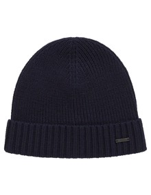 Coaststore.dk Hugo Boss HUGO Men Fati Beanie Navy