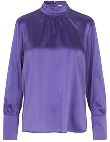 Leveté Room Dakota Bluse - Dahlia Purple | Coaststore.dk