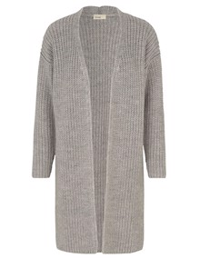 Leveté Room Gymla Cardigan - Light Grey Melange | Coaststore.dk