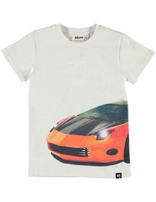 Molo Raven T-shirt - Patchwork Car | Coaststore