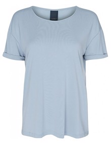 One Two Luxzuz Karin T-shirt - Pale Blue | Coaststore