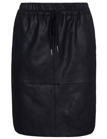 One Two Luxzuz Madeleine Coated Nederdel - Black | Coaststore.dk