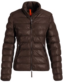 Parajumpers Jodie Leather Jakke - Dark Brown | Coaststore.dk