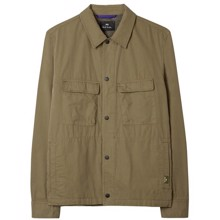 Paul Smith Khaki Cotton Overskjorte
