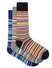 Paul Smith Signature Stripe Strømper - Multicolored | Coaststore.dk