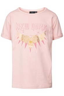 Petit By Sofie Schnoor Liva T-shirt - Light Rose | Coaststore