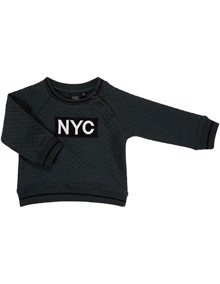 Petit By Sofie Schnoor NYC Sweatshirt - Dark Green | Coaststore.dk