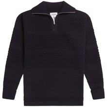 SNS Herning Fisherman Short Zip Sweater