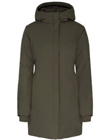 Scandinavian Edition W Coat Jakke - Olive | Coaststore