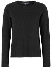 Soft Rebels Zara O-neck Bluse - Black | Coaststore