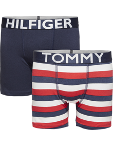 Coaststore.dk Tommy Hilfiger Kids Boys 2P Boxer Brief Stripe Boxershorts Multifarvet