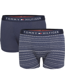 Coaststore.dk Tommy Hilfiger Kids Boys 2P Trunk Folk Boxershorts Navy